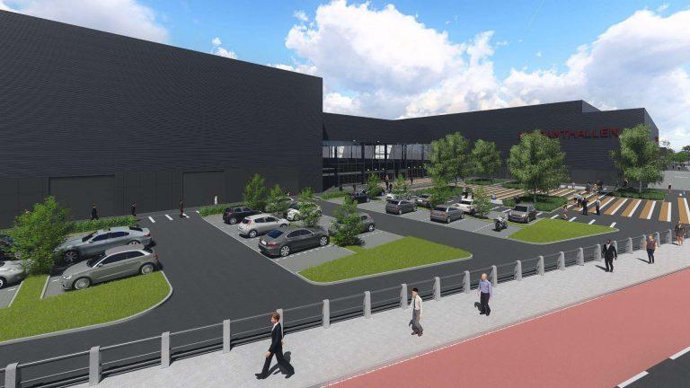 Grootse uitbreiding Brabanthallen 's-Hertogenbosch