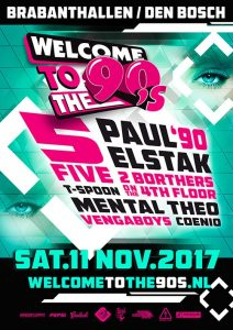 Welcome to the 90´s 11 november 2017