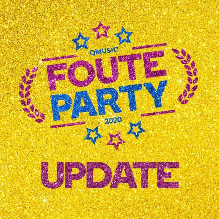 Qmusic Foute Party verplaatst naar 2021